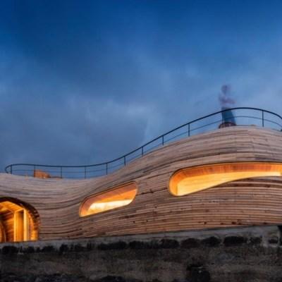 Harmonia com o meio envolvente projetado por arquiteto