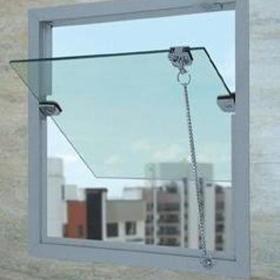 Janelas de vidro temperado