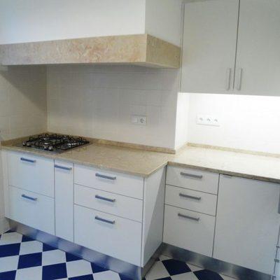 Depois da remodelação de uma cozinha