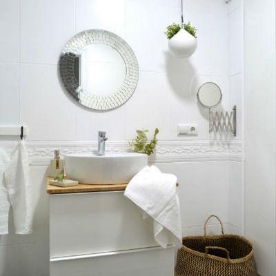 Depois da renovação de uma casa de banho