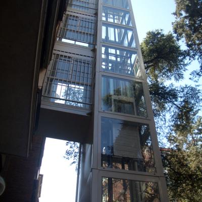 Elevador em vidro