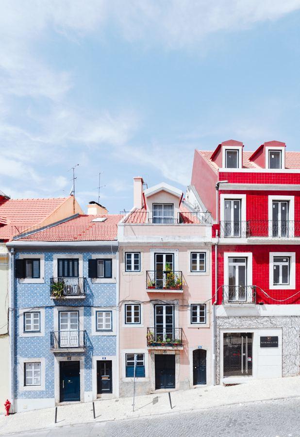 Construção de prédios tradicionais