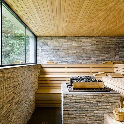 Sauna exterior