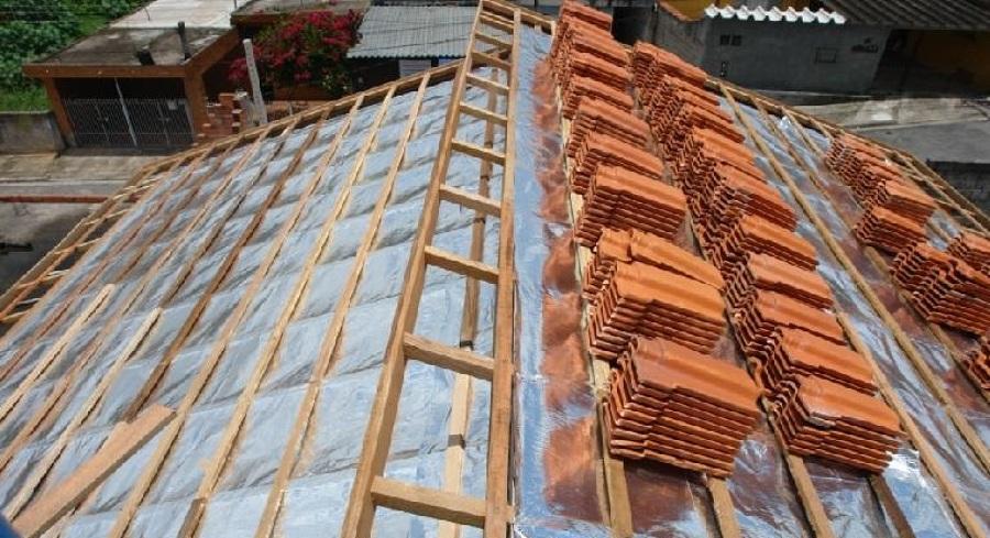 Isolamento térmico para telhado