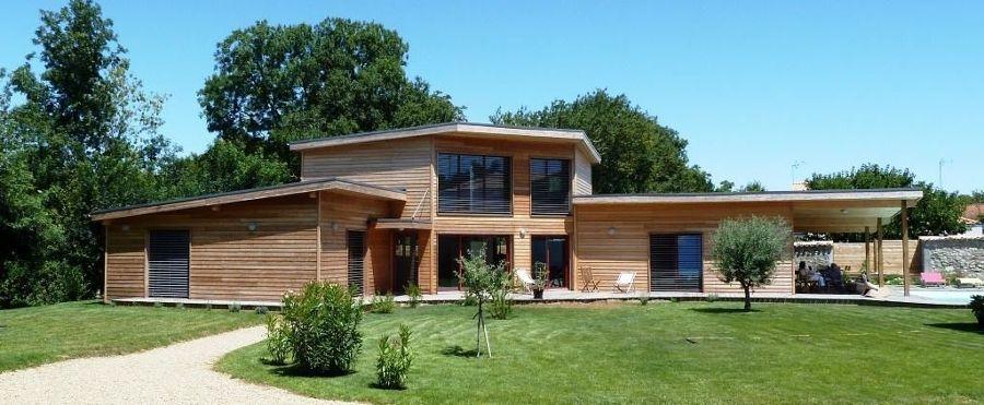 Construção de casas com madeira