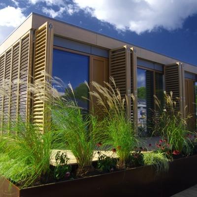 Casas em madeira ou pré fabricadas