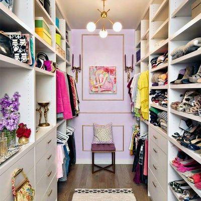 Criar espaços próprios no armário