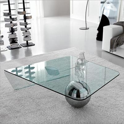 Móveis feitos com vidros