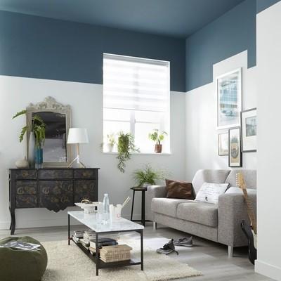 Pintar o teto e metade da parede