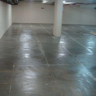 Pintura de chão de garagem