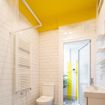 Pintar o Teto da Casa de Banho
