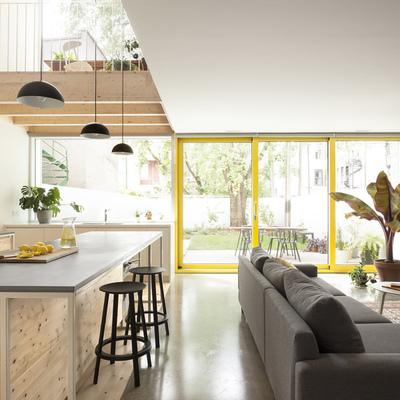 O open concept característico da arquitetura moderna
