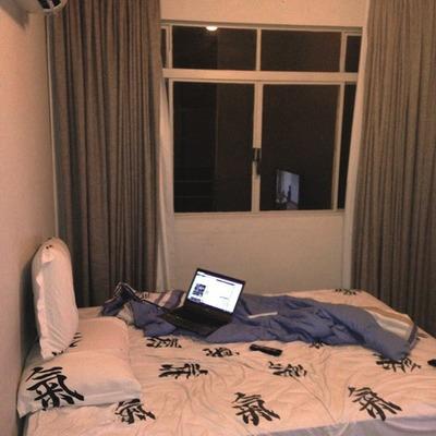 Antes da remodelação de um quarto