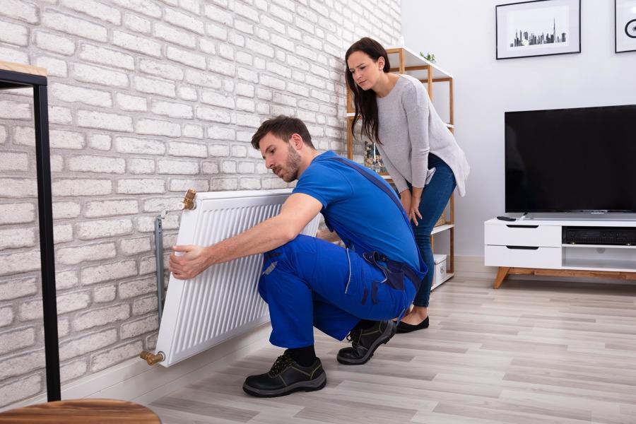 Instalação e reparação de caldeiras ou esquentadores
