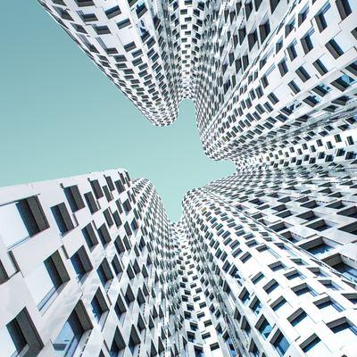 Minimalismo na construção de prédios