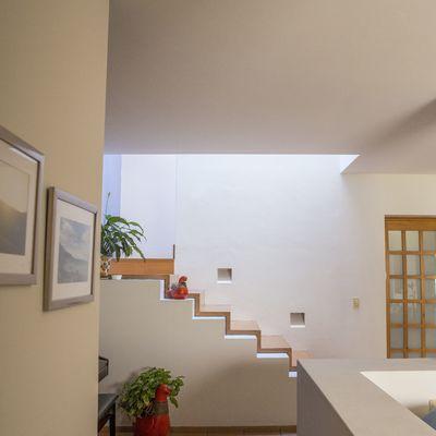 Tetos Falsos de Madeira para a escada