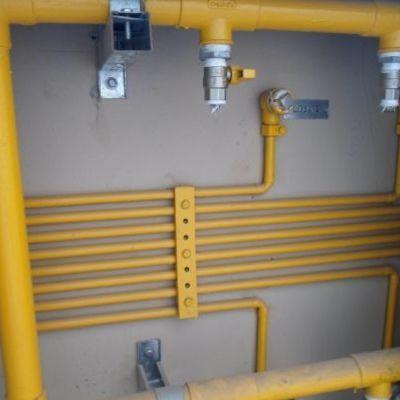 Tubulações de gás