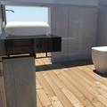 Projecto de design e 3D para WC em Póvoa de Santa Iria