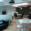 Zona de trabalho criativa em Produtora em Lisboa