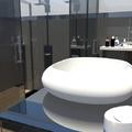 Projecto 3D para remodelação de WC em Póvoa de Santa Iria