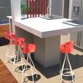 Projeto 3D de remodelação em larga escala de apartamento na Almirante Reis em Lisboa.