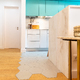 Sala e cozinha - open space