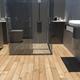 Imagem 3D de remodelação de WC em Póvoa de Santa Iria