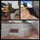 Construcção de muros de contenção