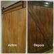 Mudar a cor das portas de madeira