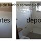Remodelação total de casa de Banho