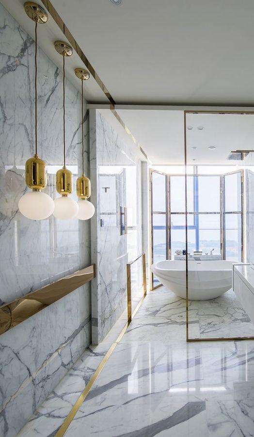 Casa De Banho Contemporânea