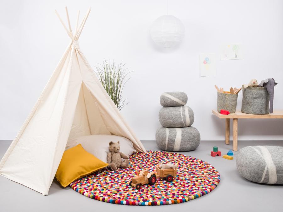 Decoração de quartos e espaços de brincar
