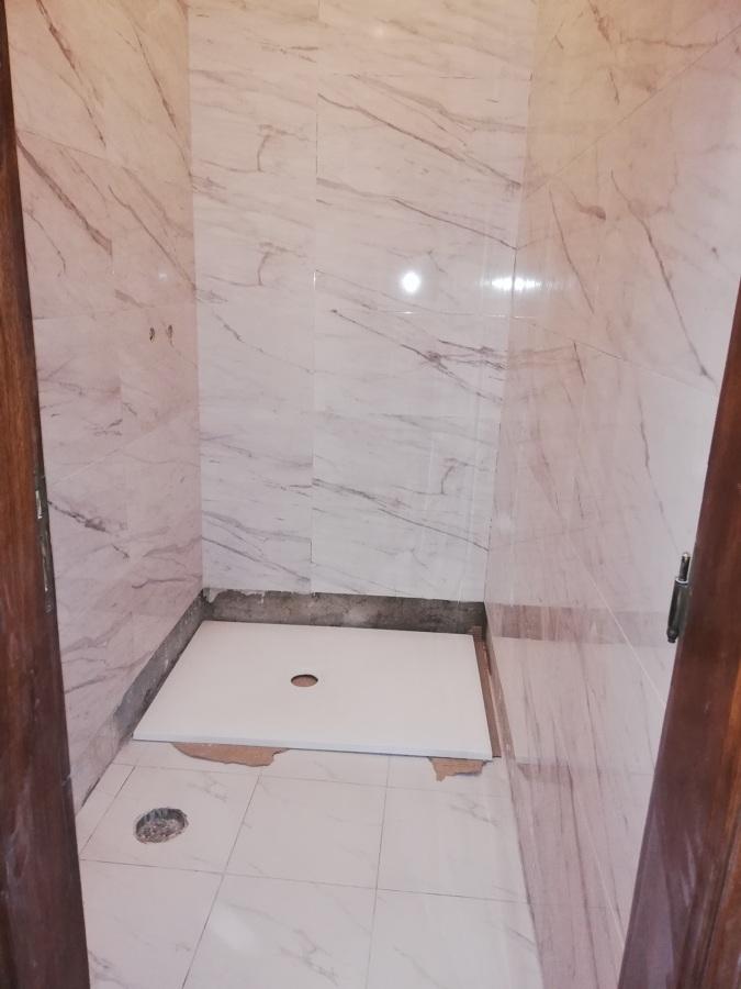 Tubagem base de duche