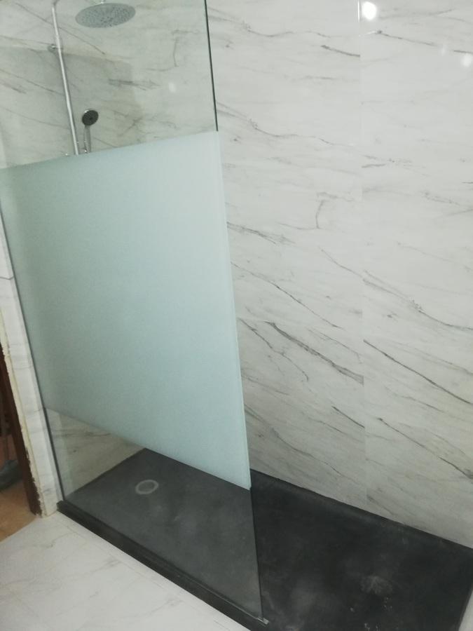 resguardo e base de duche