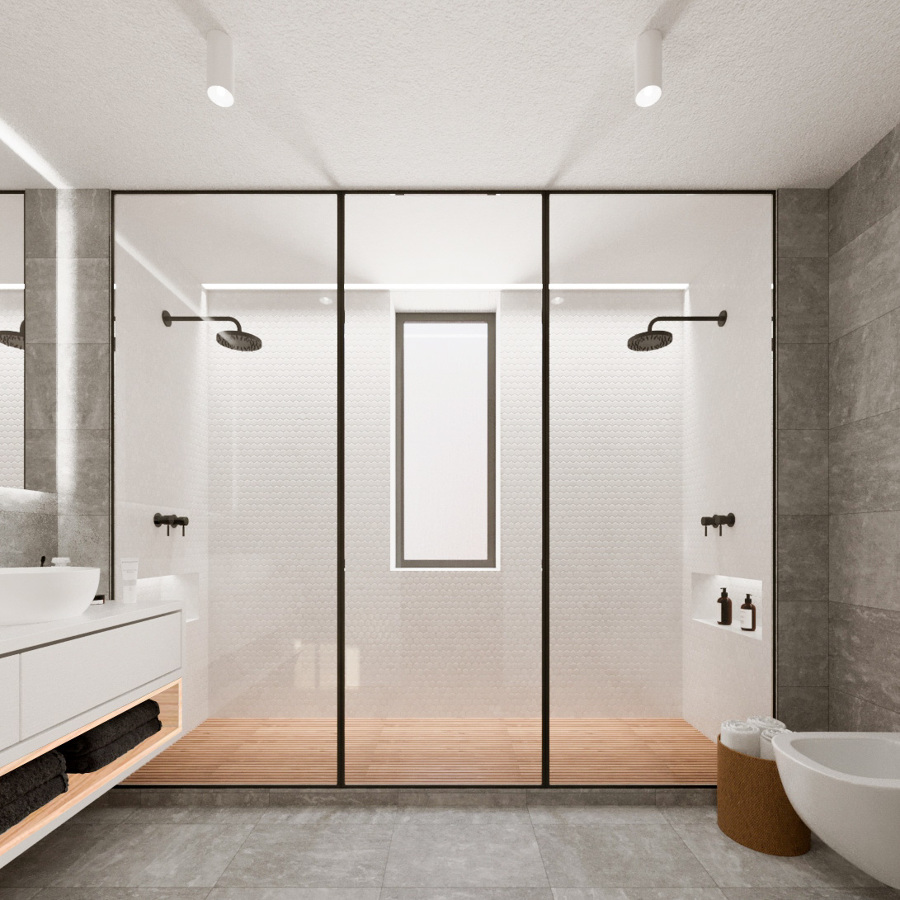 Interior de Casa de Banho