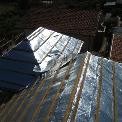 Isolamento de telhado
