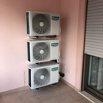 Instalação de ar condicionado Montechoro