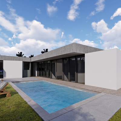 Roof touch house