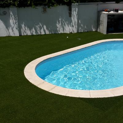 Envolvente da piscina - Oeiras
