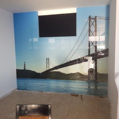 Pintura digital ponte 25 de Abril