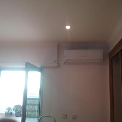 Fornecimento e instalacao de um aparelho de ar condicionado
