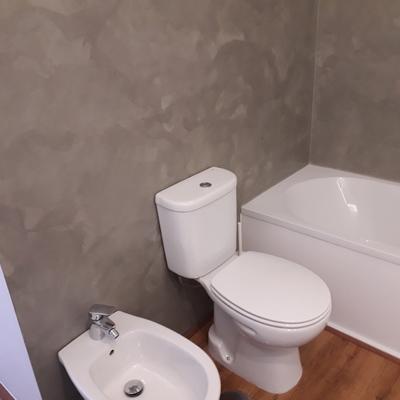 Casa de banho - microcimento