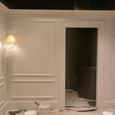 Molduras em PVC e Pintura Loja Winks