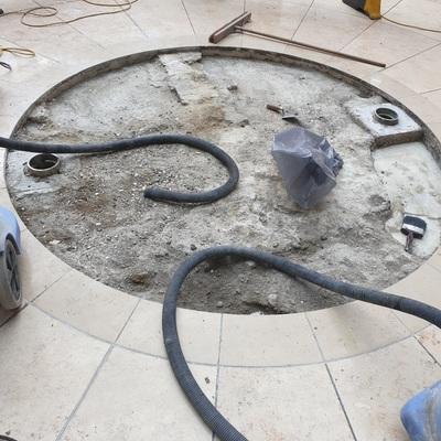 Remodelação piso comercial