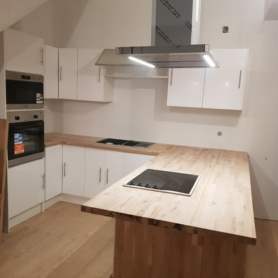 remodelação e instalação de cozinhas