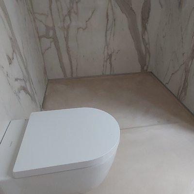 Microcimento WC