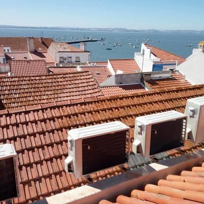 Instalação Exterior no telhado