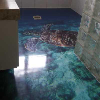 Pavimento De Resina Epóxi 3D