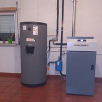 Caldeira a Pellets limpeza automática