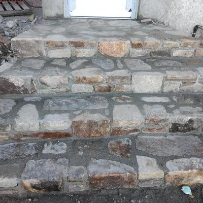 Escada de pedras